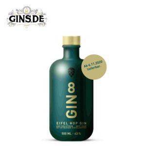 Flasche Gin 8 Eifel Hop Gin