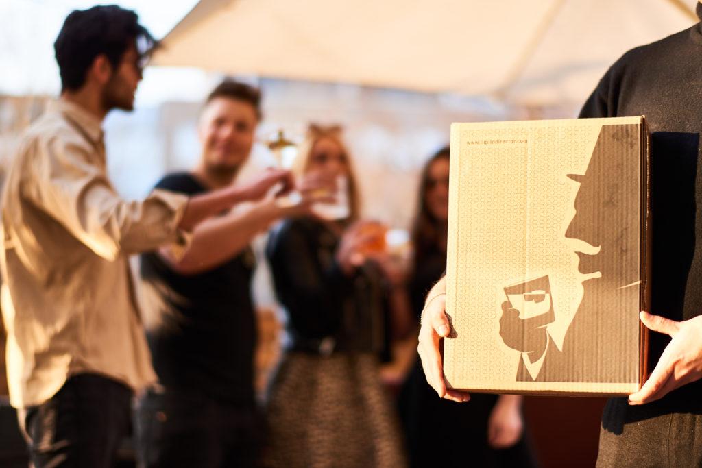 Box vom Gin Club Liquid Director
