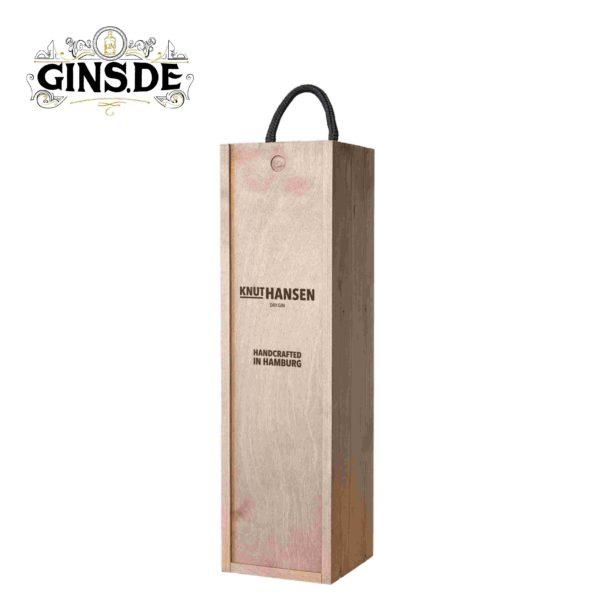 Knut Hansen Dry Gin Geschenkbox geschlossen
