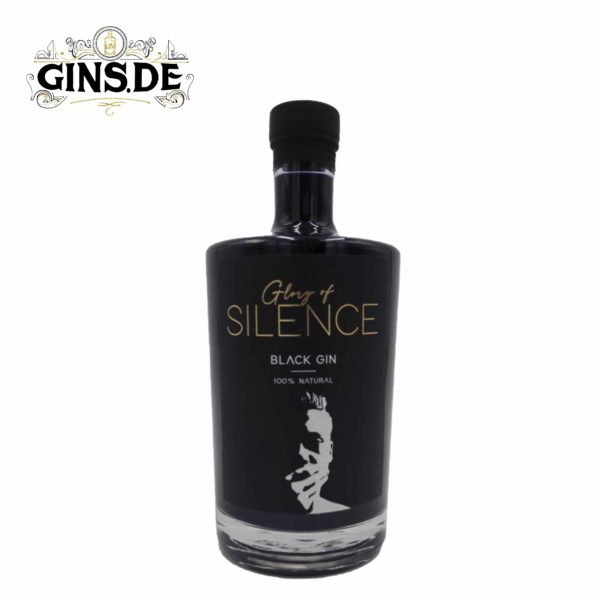 Flasche Marego Genuss Glory of Silence Black Gin
