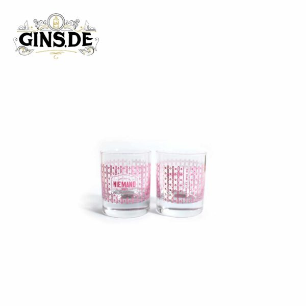 Niemand Gin Geschenkset Gläser