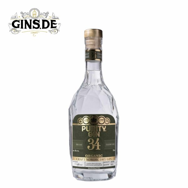 Flasche PURITY NORDIC Dry GIN