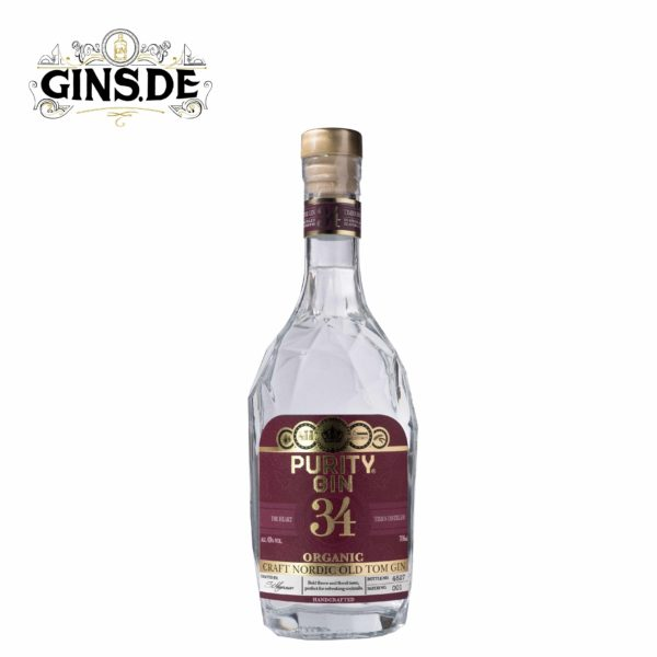 Flasche PURITY NORDIC GIN Old Tom