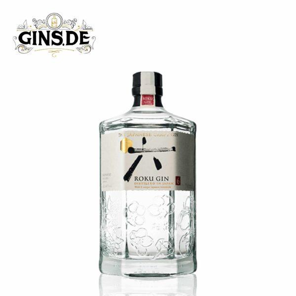 Flasche ROKU GIN Japan