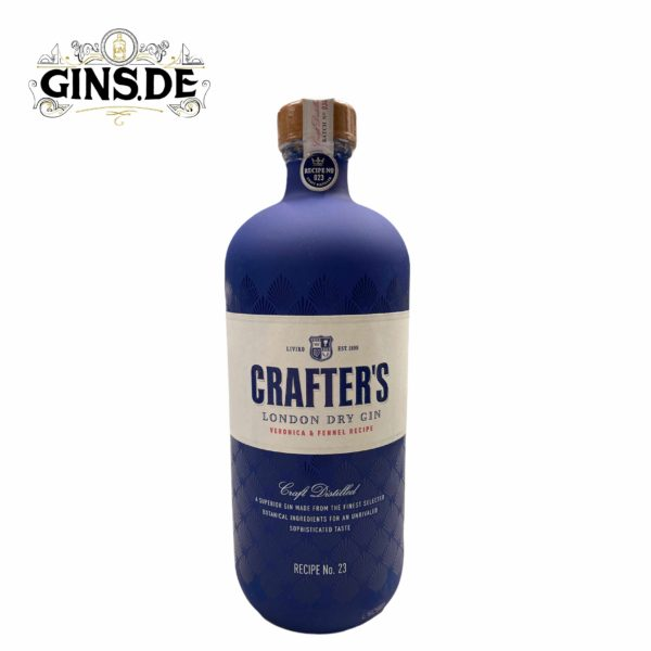 Flasche Crafters London Dry Gin