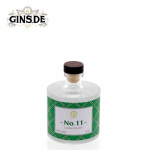Flasche Baccys No 11 London Dry Gin