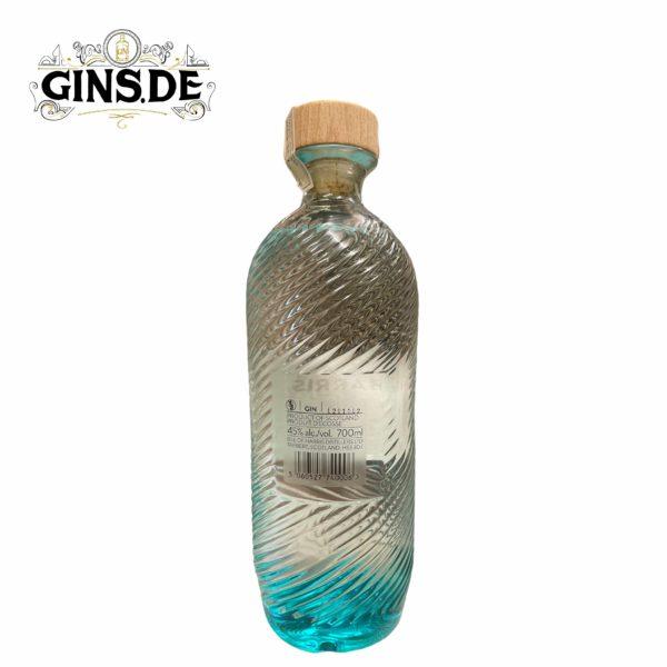 Flasche Isle of Harris Gin hinten