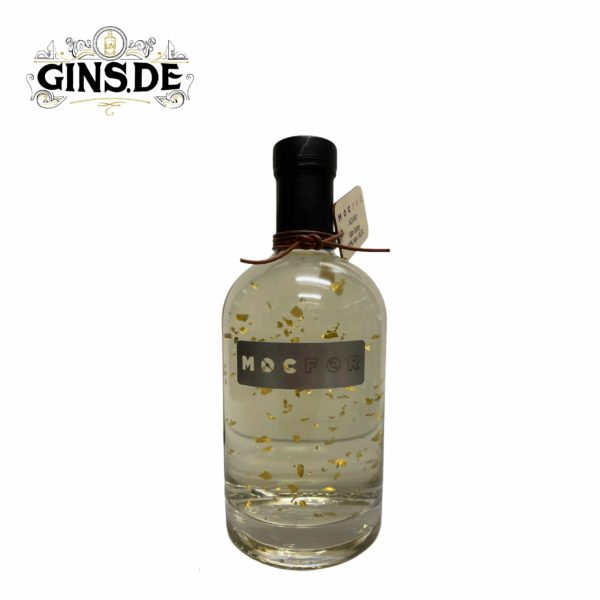 Flasche Mocfor Gin Gold