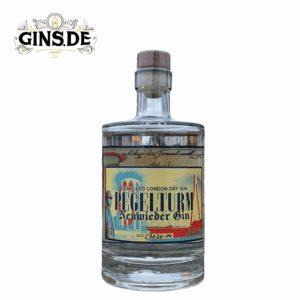 Flasche Pegelturm Neuwied London Dry Gin