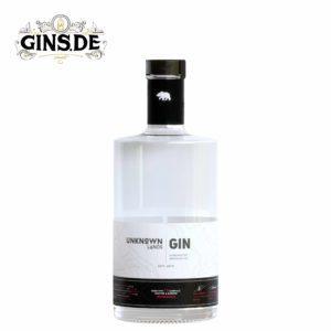 Flasche Unknown Lands Gin