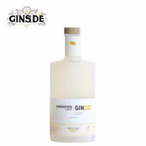 Flasche Unknown Lands Honey Comb Gin