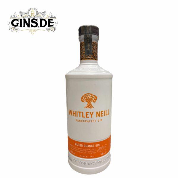 Flasche Whitley Neill Blutorangen Gin