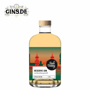 Flasche Berlin Distillery Reserve Gin