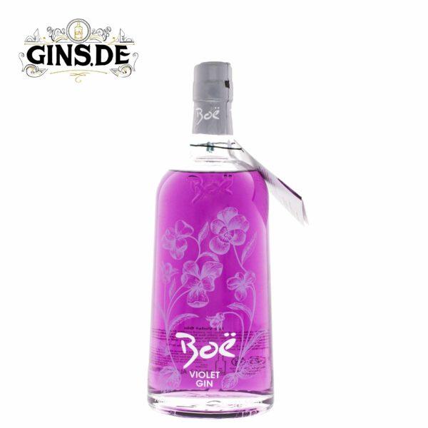Flasche Boe Violet Gin
