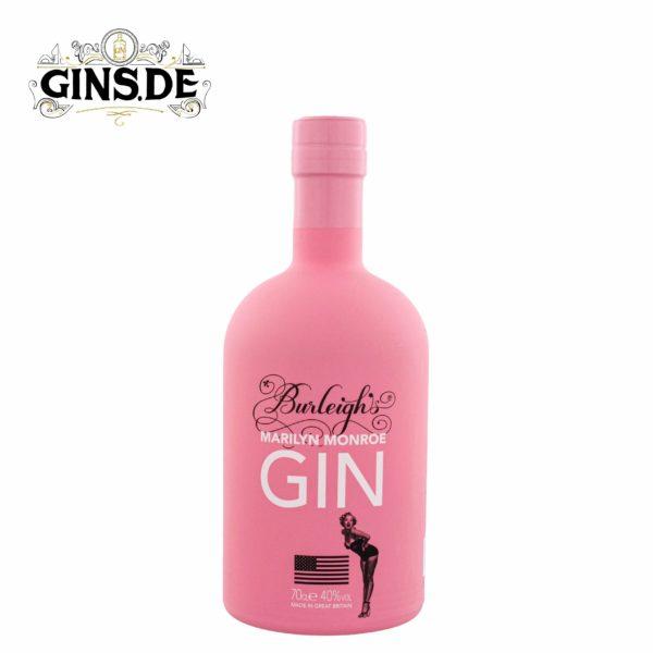 Flasche Burleighs Gin Marilyn Monroe