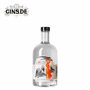 Flasche Murre Gin mit der Möhre