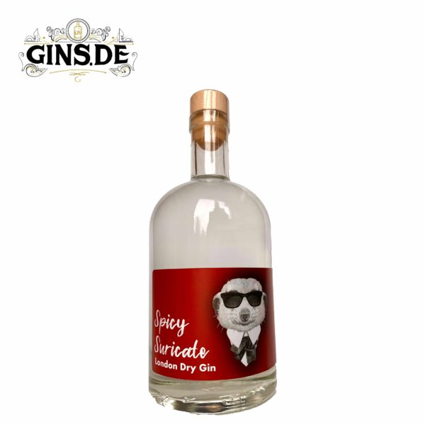 Flasche Spicy Suricate London Dry Gin