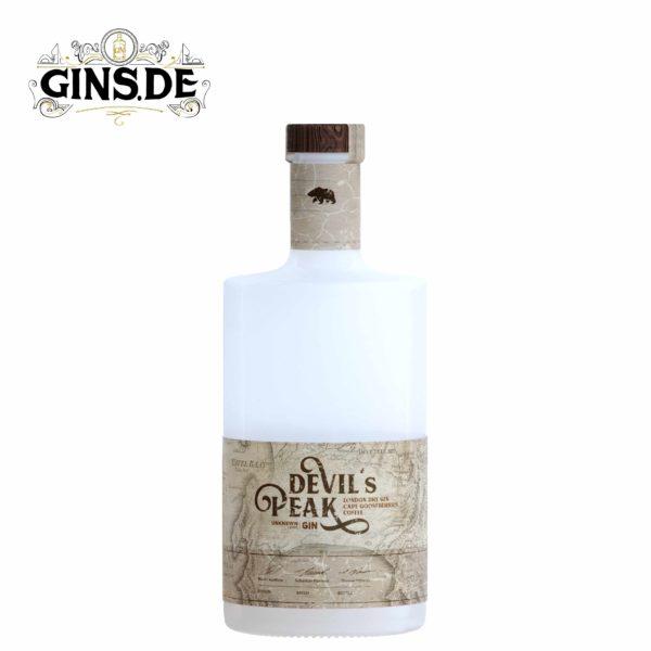 Flasche Unknown Lands Devils Peak Gin