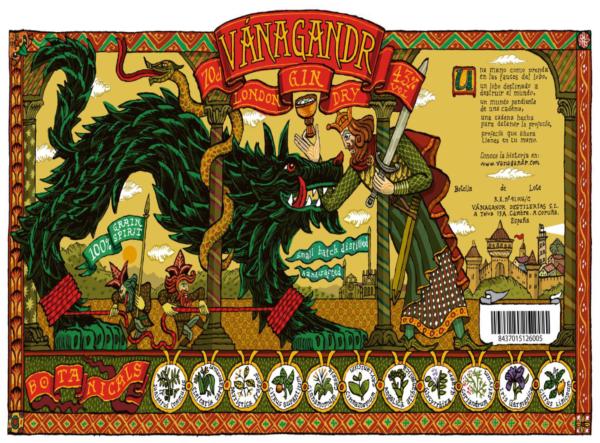 Logo Vanagandr London Dry Gin