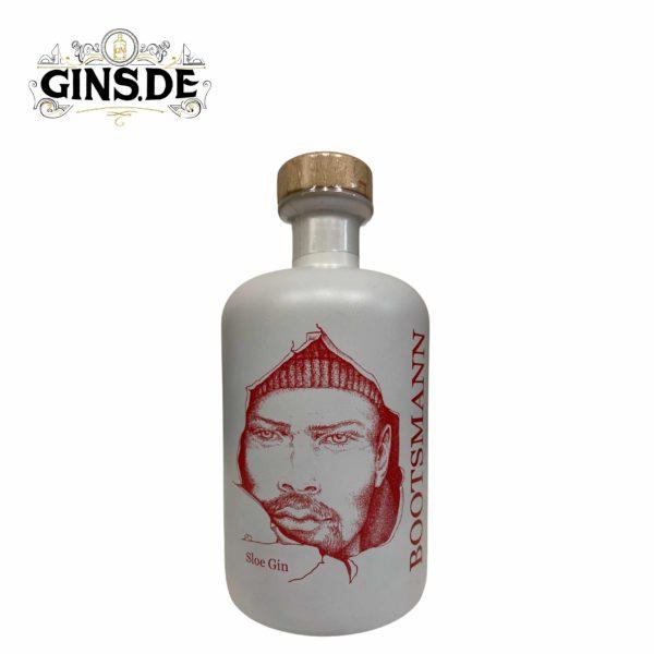 Flasche Bootsmann Sloe Gin vorn