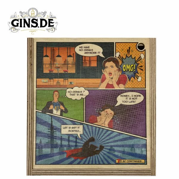 Gins Comic Box geschlossen