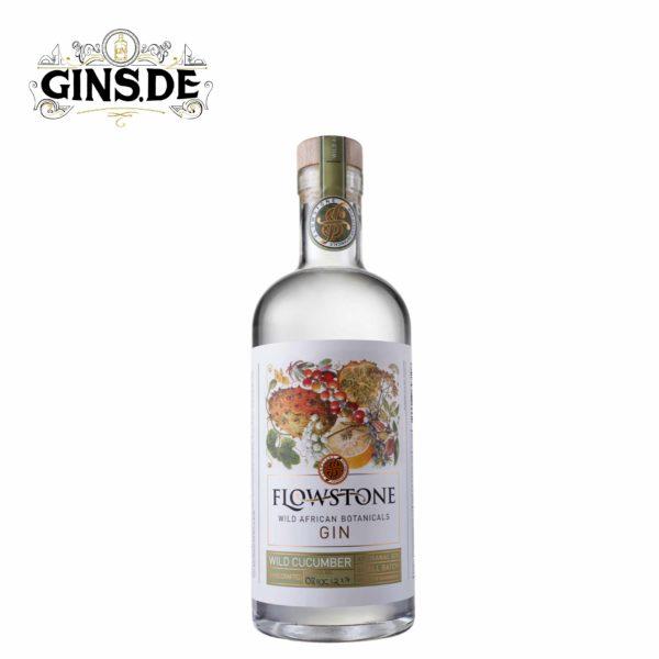 Flasche Flowstone Gin Wild Cucumber