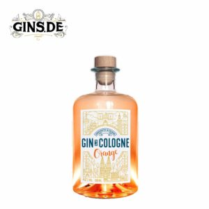 Flasche Gin de Cologne Orange