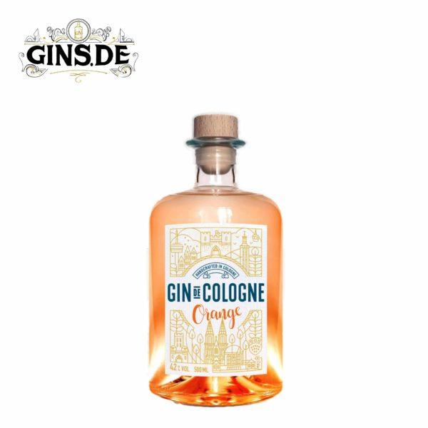 Flasche Gin de Cologne Orange