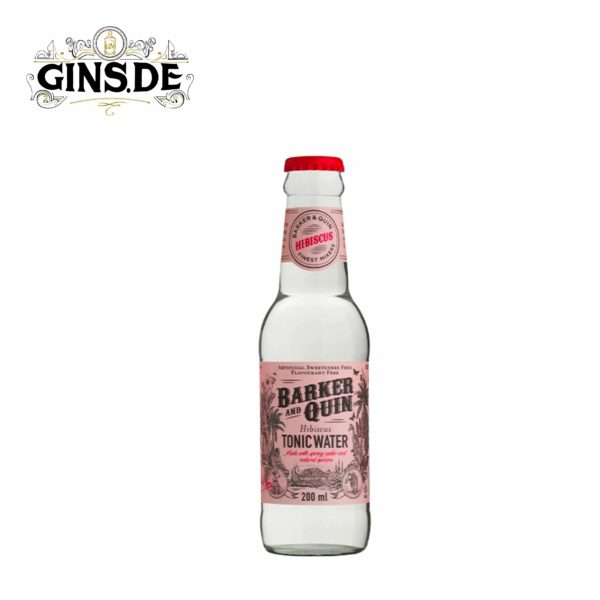 Barker and Quin Tonic Water Hibiskus