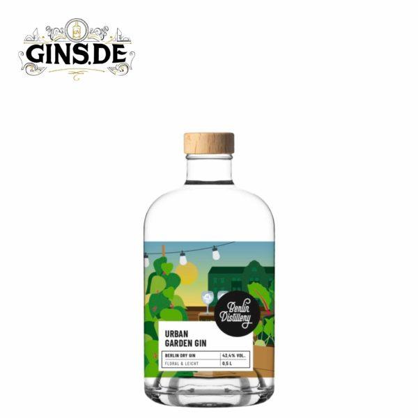 Flasche Berlin Distillery Urban Garden Gin