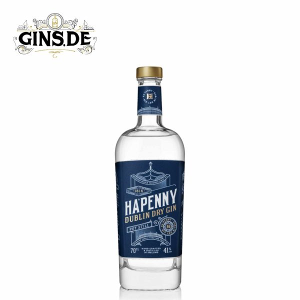 Flasche HAPENNY Dublin Dry Gin