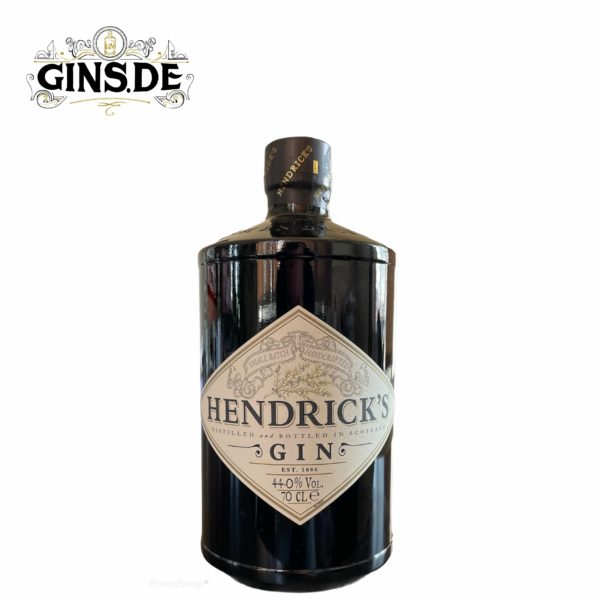 Flasche Hendricks Gin vorne
