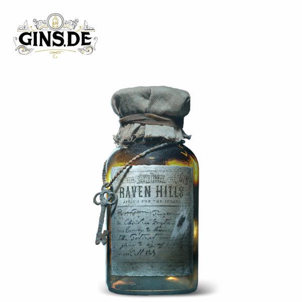 Flasche Raven Hills Gin