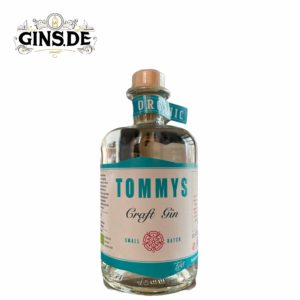 Flasche Tommys Craft Gin
