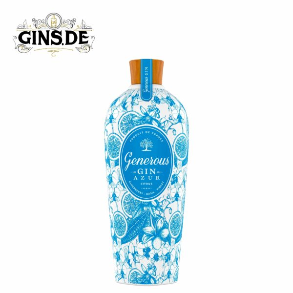 Flasche Generous Gin Azur