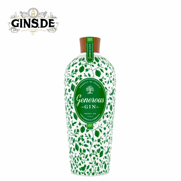 Flasche Generous Organic Gin