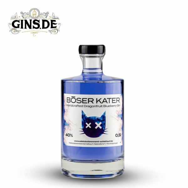 Flasche Böser Kater Dragonfruit Blueberry Gin
