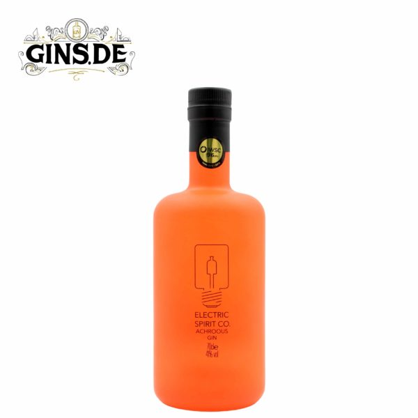 Flasche Electric Spirit Co. Achroous Dry Gin