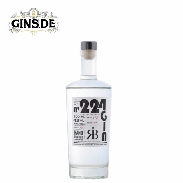Flasche 224 London Dry Gin