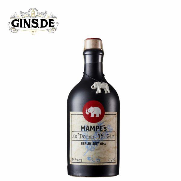 Flasche Mampes Ku Damm 15 Gin