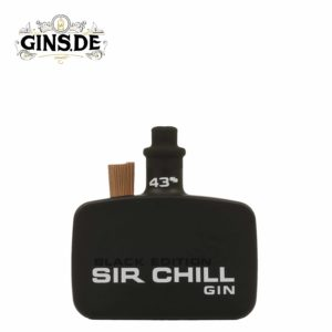 Flasche Sir Chill Gin Black Edition