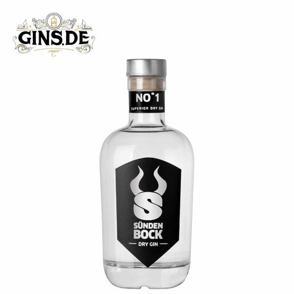 Flasche Sündenbock Dry Gin