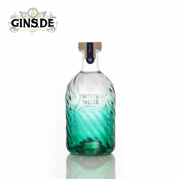 Flasche Twisted Nose Dry Gin