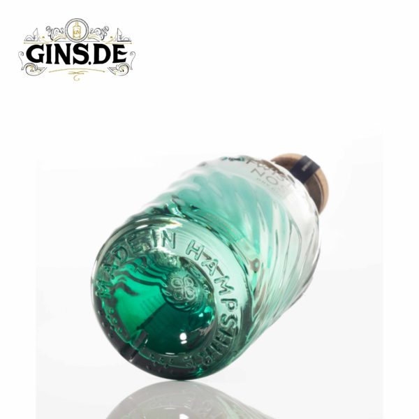 Flasche Twisted Nose Dry Gin Liegend