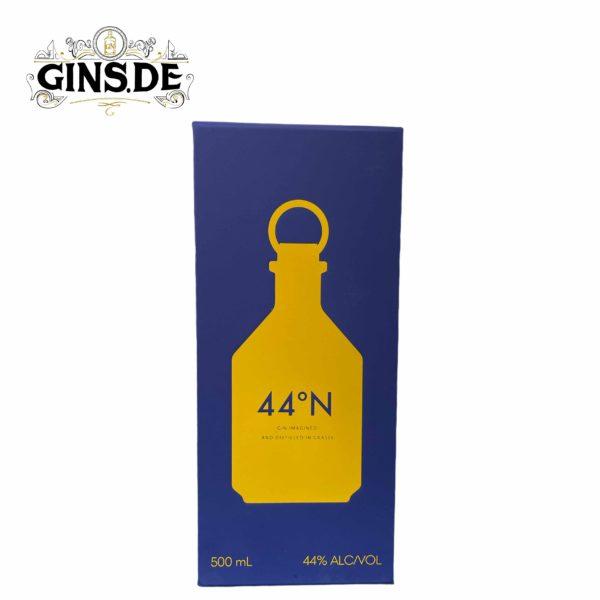 Verpackung vorn 44°N Gin