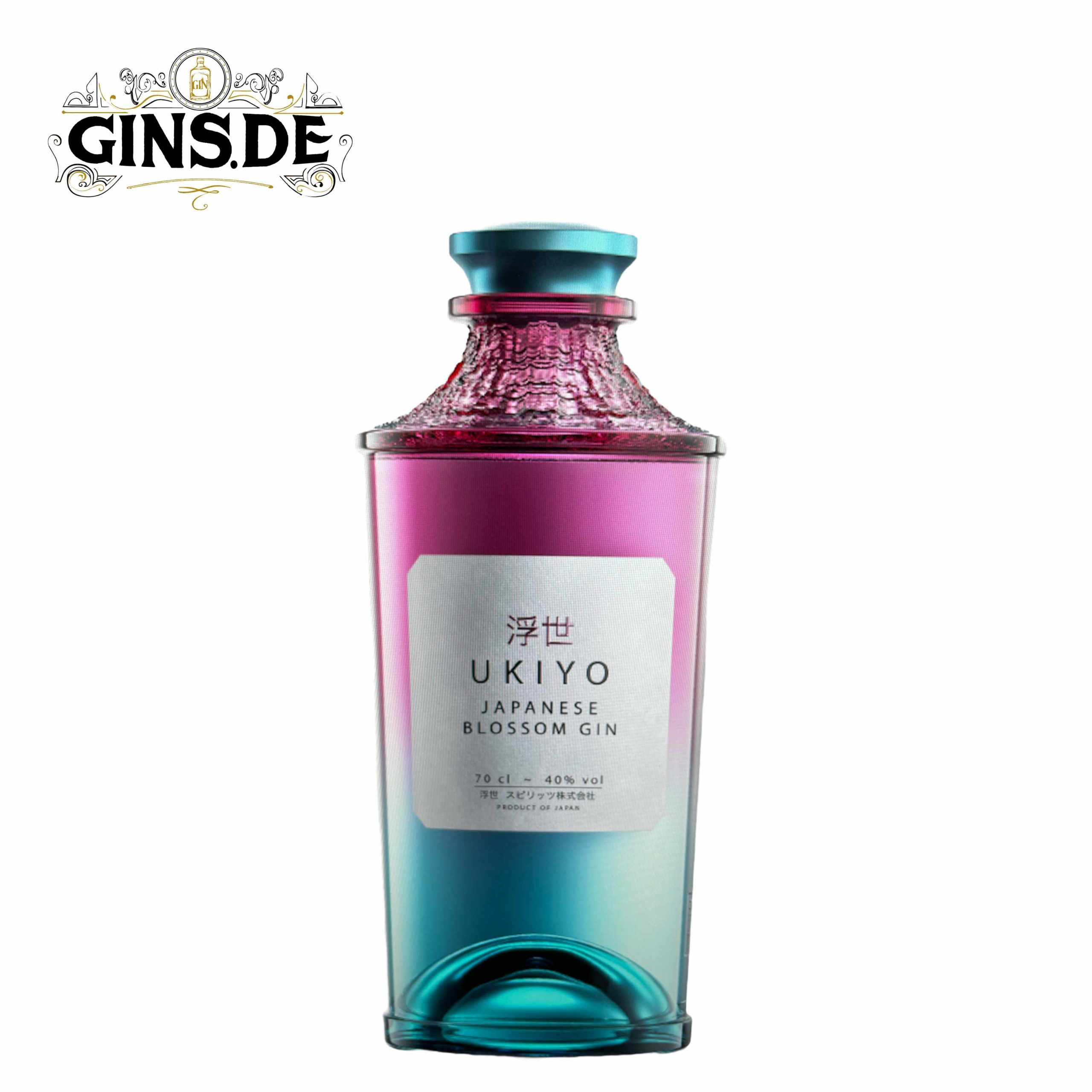 Flasche Ukiyo Japanese Blossom Gin