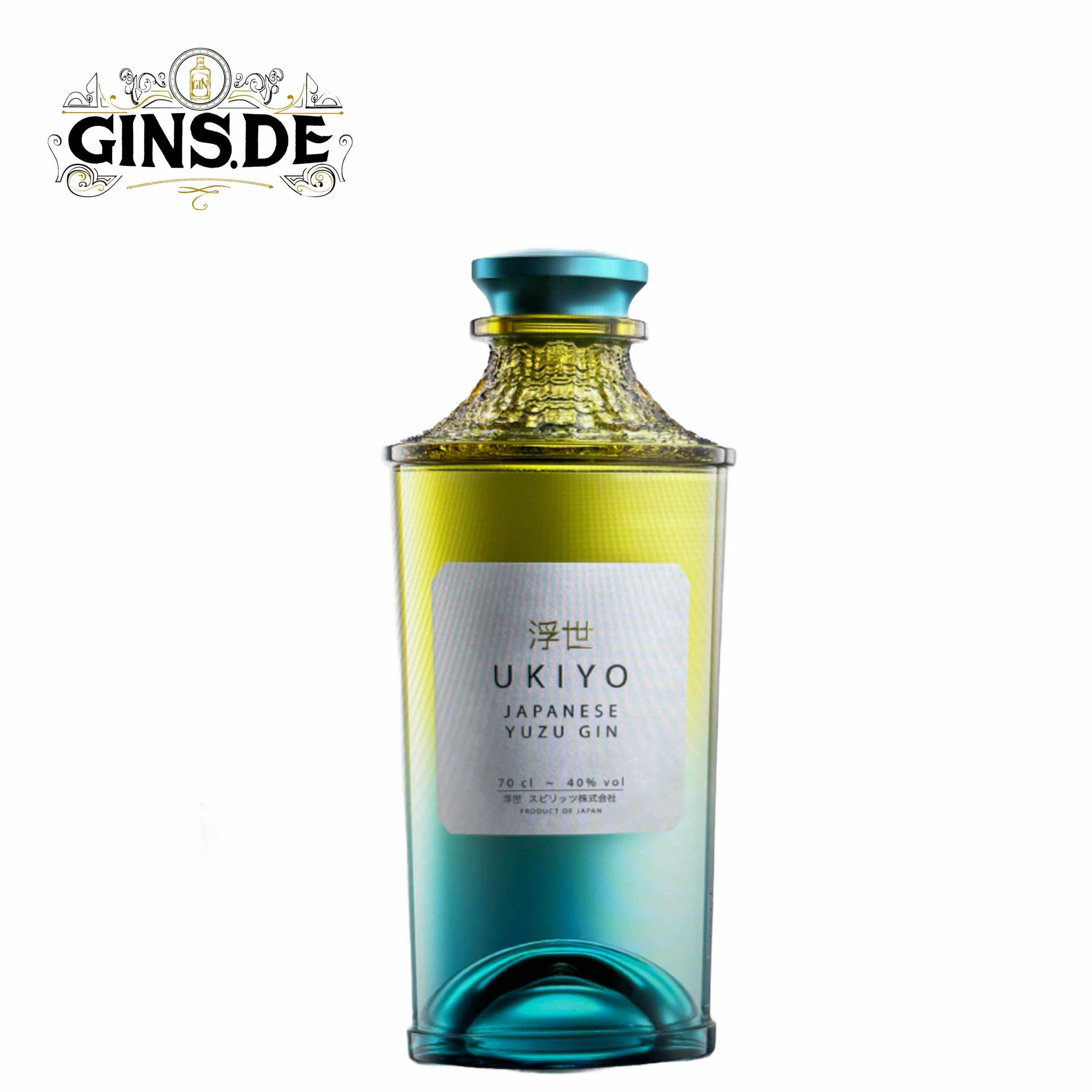 Flasche Ukiyo Japanese Yuzu Gin