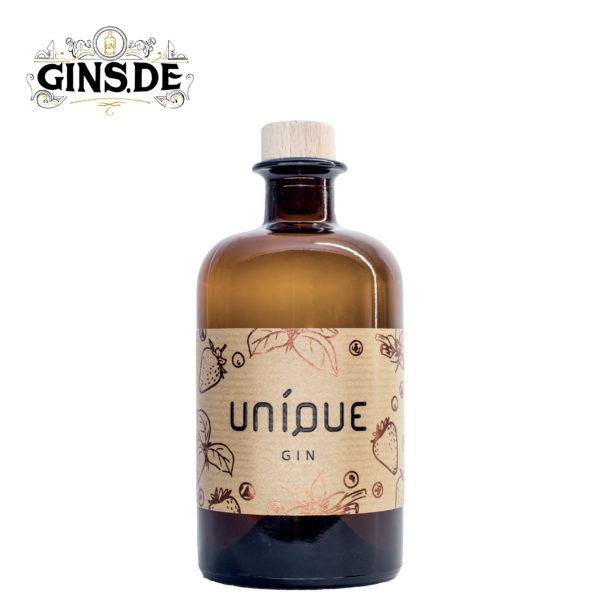 Flasche Unique Gin