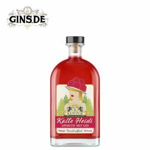 Flasche V-Sinne Kalte Heidi
