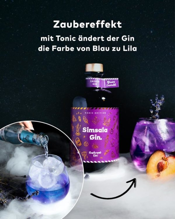 Flasche Simsala Gin Flaschenpost